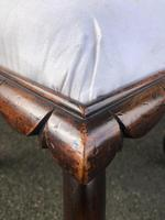 Antique Rosewood Upholstered Stool (2 of 6)