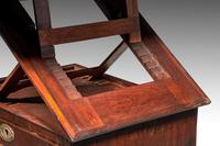 George III Period Mahogany Reading & Writing Table (8 of 9)