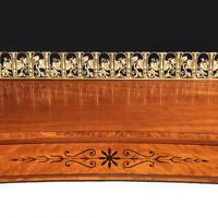 Regency pale mahogany pedestal sideboard (4 of 8)