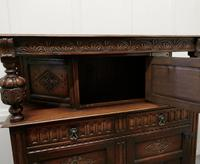 19th  Century Arts & Crafts Gothic Carved Oak Court Cupboard (6 of 8)