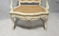 Pair of Painted Bergere Armchairs (2 of 6)