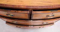 18th Century Satinwood Bow Fronted Chest of Drawers (9 of 12)