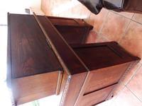 Country Oak Lions Head Pedestal Desk 1860 (9 of 12)