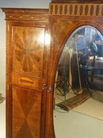 Fine Quality Early 20th Century Mahogany Breakfront Wardrobe (5 of 9)