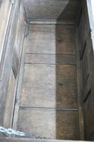 Antique 18th Century Oak Coffer (6 of 12)