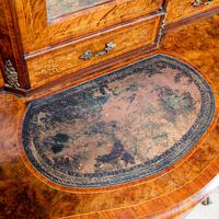 Victorian Marquetry Desk (8 of 8)