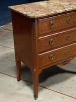 French Parquetry Commode Chest of Drawers (24 of 27)