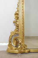 19th Century Gilt Overmantle Mirror (9 of 12)