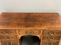 Edwardian kneehole desk in walnut (4 of 5)