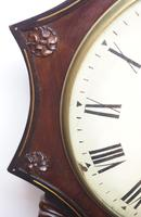 Rare Antique Drop Dial Wall Clock 8 Day Single Fusee Movement Signed J H Harvey Penzance (7 of 12)