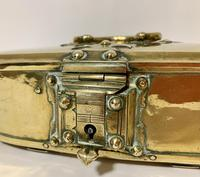 Antique Eastern Brass Dowry Box (3 of 11)