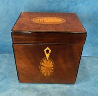 18th Century Harewood Inlaid Single Mahogany Tea Caddy (13 of 18)