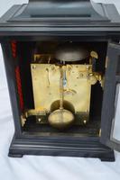 Josia Jessop London Twin Fusee Bracket Table Clock (7 of 10)
