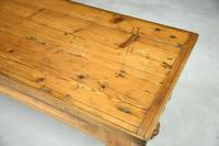 Victorian Pine Kitchen Table (7 of 7)