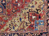 Antique Heriz Carpet 3.20m x 2.37m (7 of 10)
