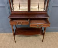Inlaid Mahogany Display Cabinet by Shapland and Petter (10 of 21)
