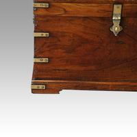 Victorian Small Brass Bound Campaign Chest (6 of 9)