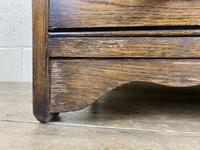 Mid 20th Century Art Deco Style Oak Bureau (2 of 15)