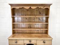 Antique Pine Farmhouse Kitchen Dresser (3 of 10)