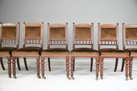 6 Victorian Walnut Dining Chairs (4 of 11)