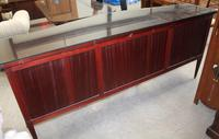 1960s Large Mahogany Serpentine Sideboard with Keys (2 of 5)