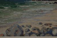 Cornish coastal landscape by H A Minton (4 of 6)