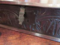 Early Period Antique Oak Deed Box c.1700 (2 of 7)
