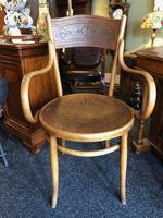 Antique Bentwood Chair J J Kohn Austria Stamped Original Rare Surviving Design (7 of 8)