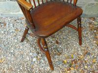 Antique Oak Windsor Chair (6 of 8)