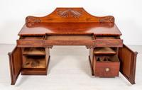 Impressive William IV Mahogany Pedestal Sideboard (8 of 9)