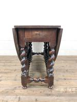 Antique 18th Century Welsh Oak Gateleg Table, Folding Table, Dining Table or Kitchen Table (6 of 12)