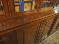 Large George III Style Mahogany 6 Door Cabinet Bookcase (8 of 17)