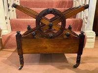 Regency period Rosewood 3-section X-Frame Canterbury (6 of 6)
