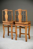Pair of Asian Side Chairs (11 of 12)
