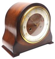 Very Good Arched Top Art Deco Mantel Clock – Smiths Striking 8-day Mantle Clock (5 of 10)