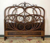 Antique Bentwood Large Double Bed By Jacob & Josef Kohn c.1900 (9 of 12)