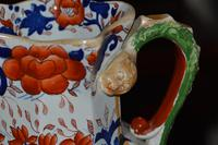 Large & Heavy 19th Century Masons Ironstone Hydra Jug or Pitcher (3 of 12)