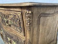 Stylish French Bleached Oak Commode Chest (18 of 20)