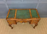 Good Queen Anne Style Burr Walnut Writing Desk (16 of 18)