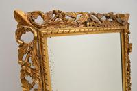 Antique French Carved Giltwood Mirror (4 of 10)