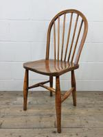 Pair of Antique Hoop Back Farmhouse Chairs (11 of 13)
