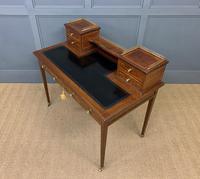 Edwards & Roberts Inlaid Mahogany Writing Desk (17 of 20)