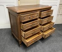 Stylish French Oak Chest of Drawers (5 of 18)