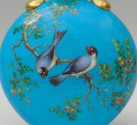 Minton Porcelain Moon Flask William Mussill 1875 Bleu Celeste (5 of 10)