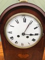 Edwardian Inlaid Mahogany Bracket Clock (2 of 11)