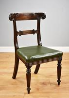 Set of 4 William IV Mahogany Dining Chairs (10 of 10)