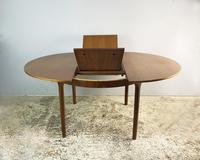 1970's Extending Dining Table by A.H. Mcintosh (3 of 5)