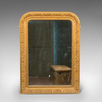Antique Wall Mirror, English, Gilt Gesso, Neo Classical Revival, Victorian, 1900 (8 of 8)