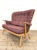 Vintage Ercol Evergreen Two Seater Sofa & Armchair (3 of 10)