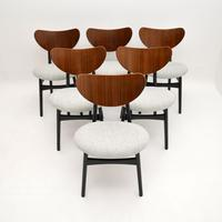 Set of 6 Vintage G Plan Butterfly Dining Chairs (8 of 12)